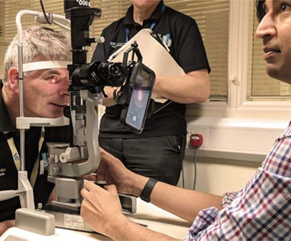Device Eye Exam